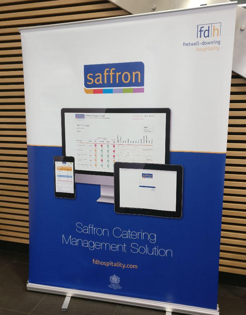 Saffron 2019 User Conference Marketing Stand